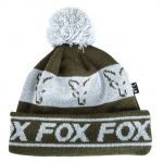 Fox Green Silver Lined Bobble
